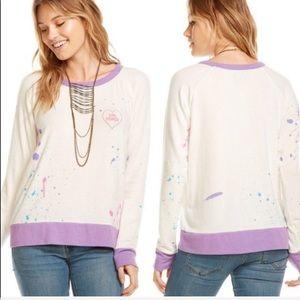 Chaser Girl Power Sweatshirt NWT